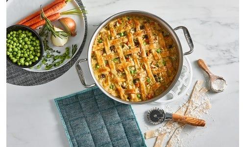 Chicken Pot Pie Casserole - The 1990's