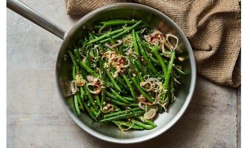 Gaby Dalkin's Spicy Garlic Green Beans