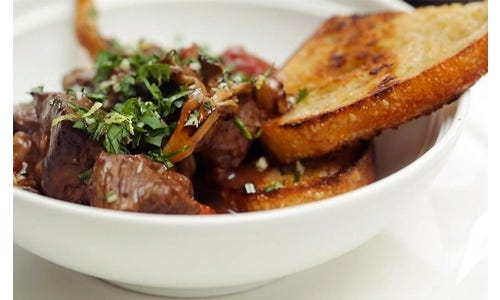 Chef Paul Kahan's Lamb Stew