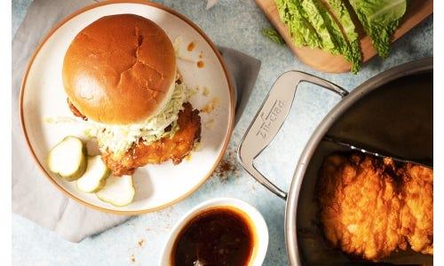 Georgia Hot-lanta Spicy Chicken Sandwich