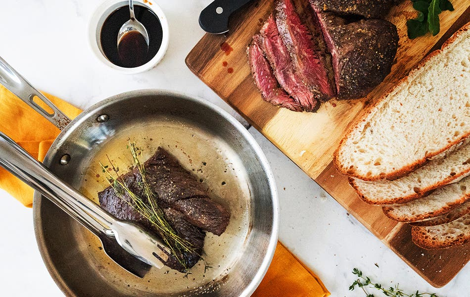Connecticut Steak Sandwich