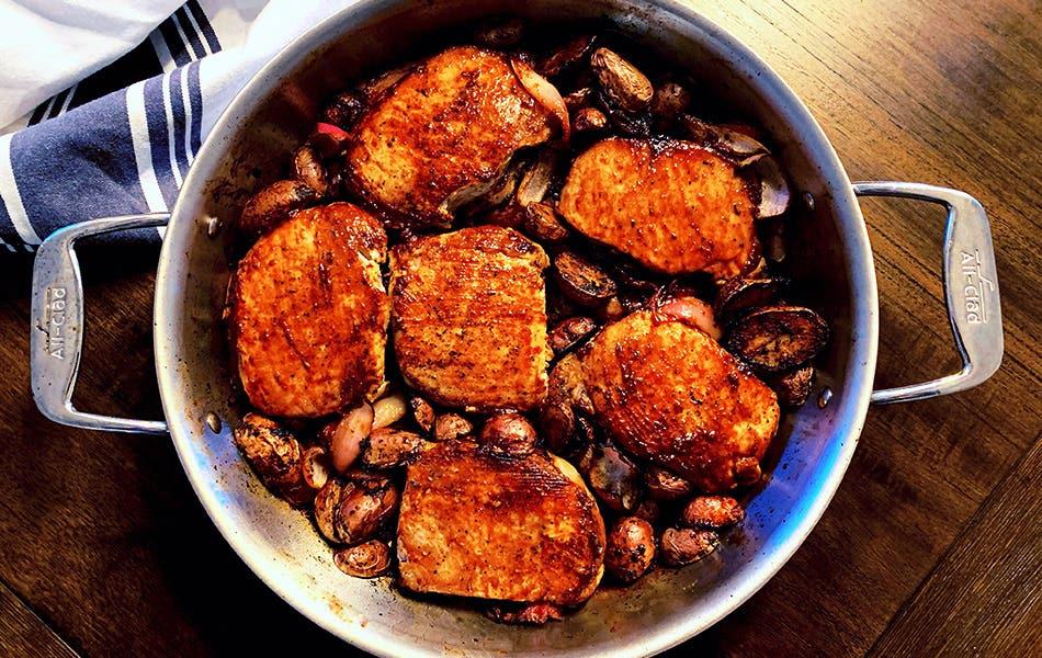 KellyAnn's Balsamic Pork Chops
