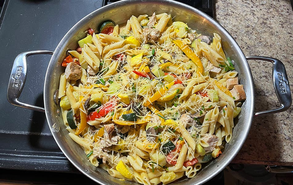 Jackie's Sicilian Penne Pasta